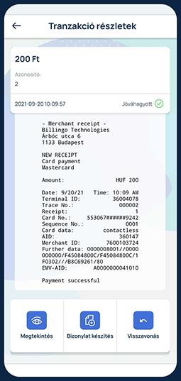 Bankkártya-elfogadás a mobilodon.