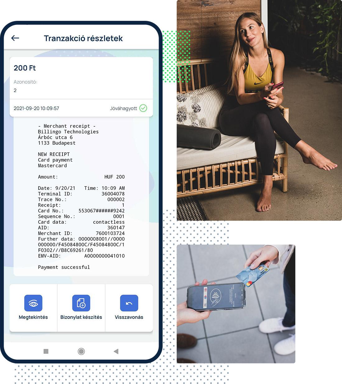 A mobilod az új bankkártyaelfogadó-terminálod.