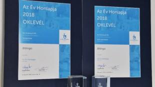 Díjeső 2018-ban is – az Év Honlapja versenyen és a Marketing Diamond Awardson is tarolt a Billingo