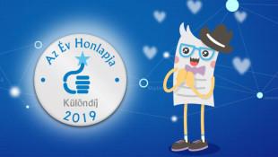 Hurrá!! 2019-ben is a legjobbak között a Billingo Az Év Honlapja szakmai versenyen