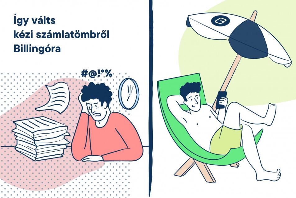 Így válts kézi számlatömbről Billingo online számlázóra