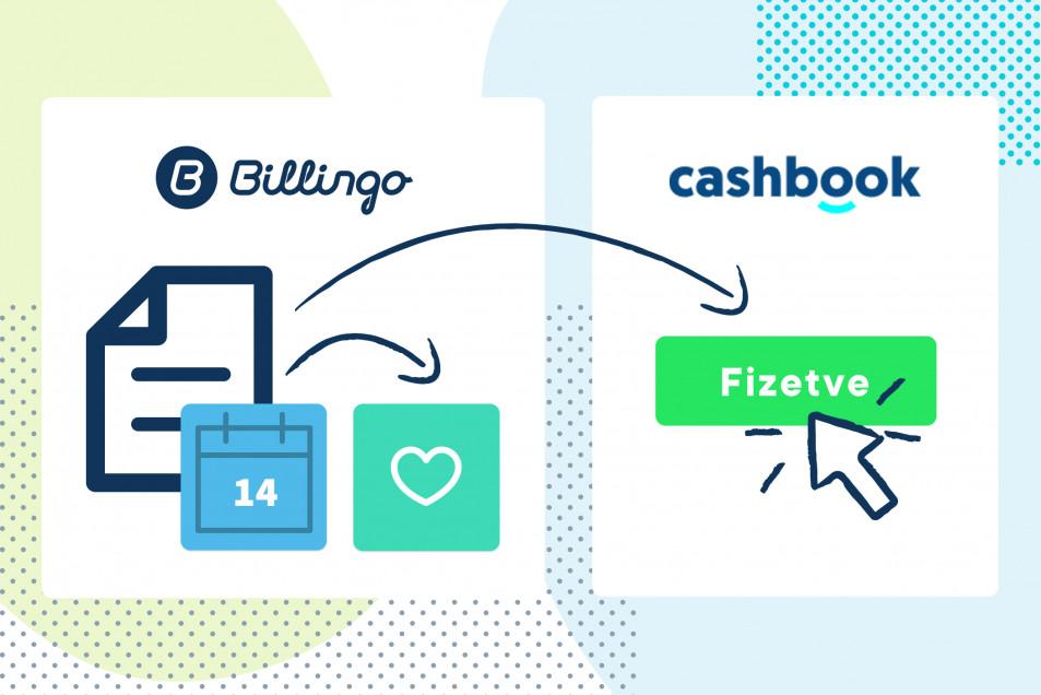 Új fejlesztés: Automatikus számlakiegyenlítés-szinkronizálás a Cashbookkal