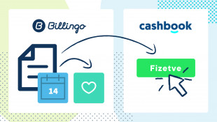 Automatikus számlakiegyenlítés-szinkronizálás a Cashbookkal