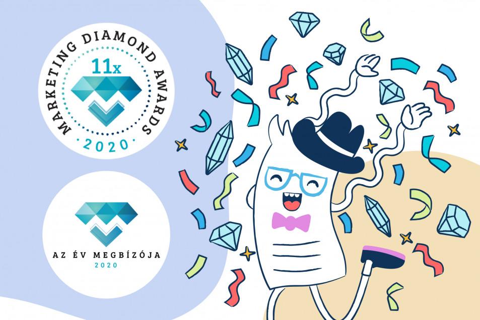 Billingo Marketing Diamonds Awards 2020