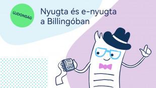 Újdonság: Nyugtával és E-nyugtával gazdagodott a Billingo