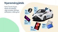 Nyerj Toyota Aygót a Billingóval és száguldj vele a siker felé