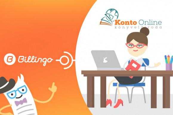 A könyvelőirodák közül elsőként a Konto Online könyvelőirodához készült közvetlen összekötés a Billingo online számlázóval. Így a könyvelőiroda ügyfelei a digitális adatátvitel minden lehetséges előnyét élvezhetik.