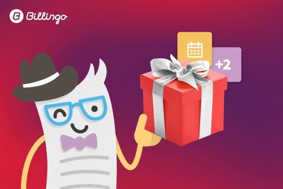 Elindult a Billingo ajánlói rendszere, amelynek köszönhetően 2 hónapos ingyen Premium előfizetéssel jutalmazzuk felhasználóinkat és a meghívásukra előfizető új felhasználót is.